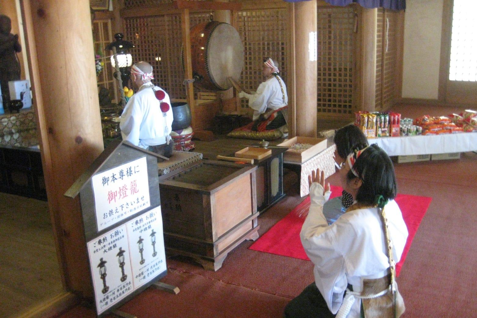 金剛山転法輪寺の子供祭り